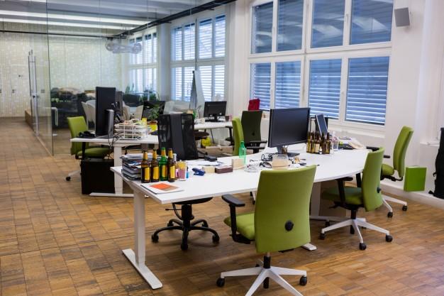 grøn kontorstol