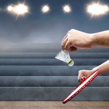 mand holder badmintonketcher