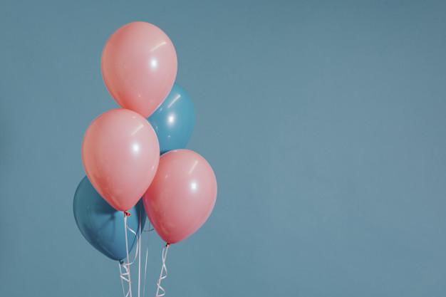 balloner med tryk