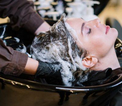 Balayage hår